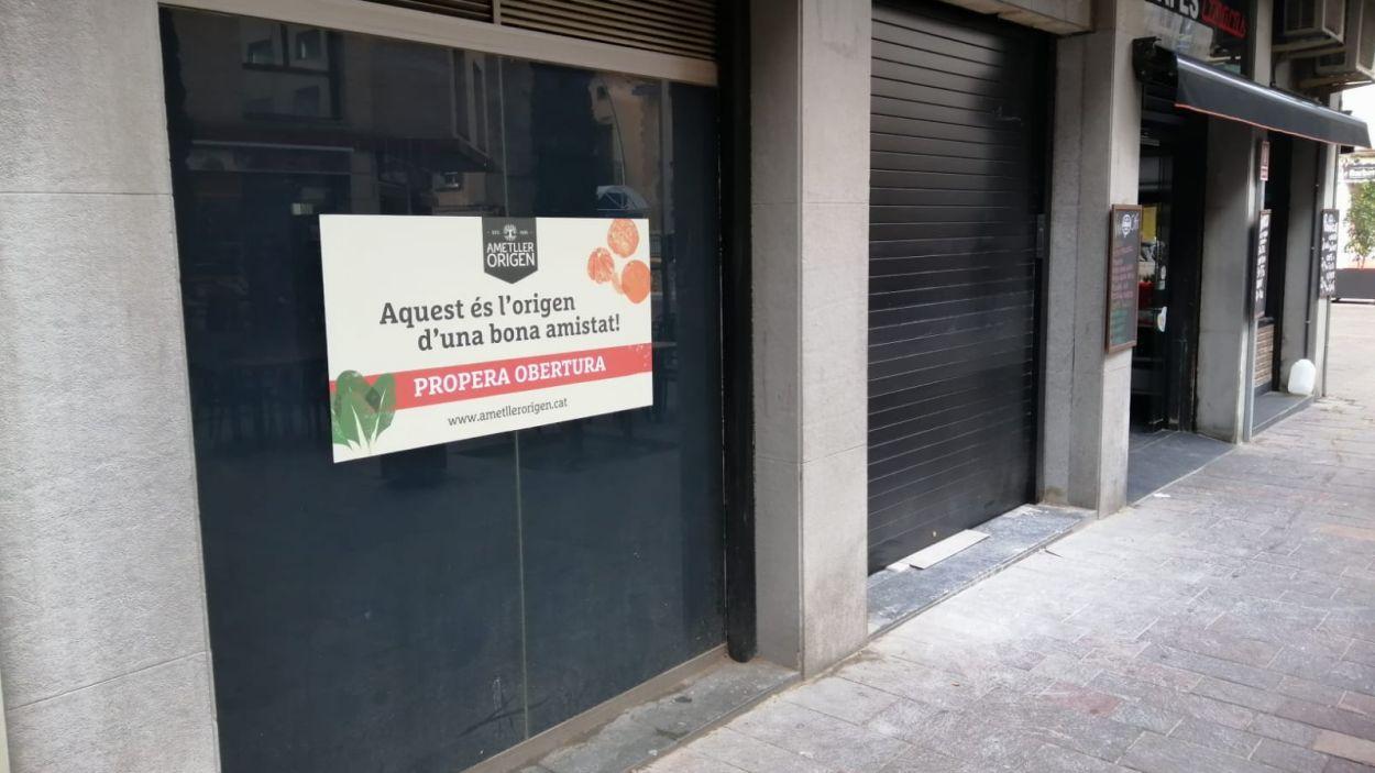 La nova botiga s'ubicarà al Passeig de la Torre número 35-37 / Foto: Cugat Mèdia