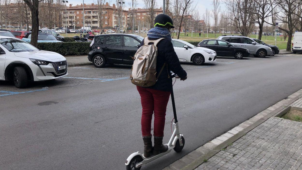 Sant Cugat està treballant en l'ordenança per regular la circulació de patinets elèctrics / Foto: Cugat Mèdia