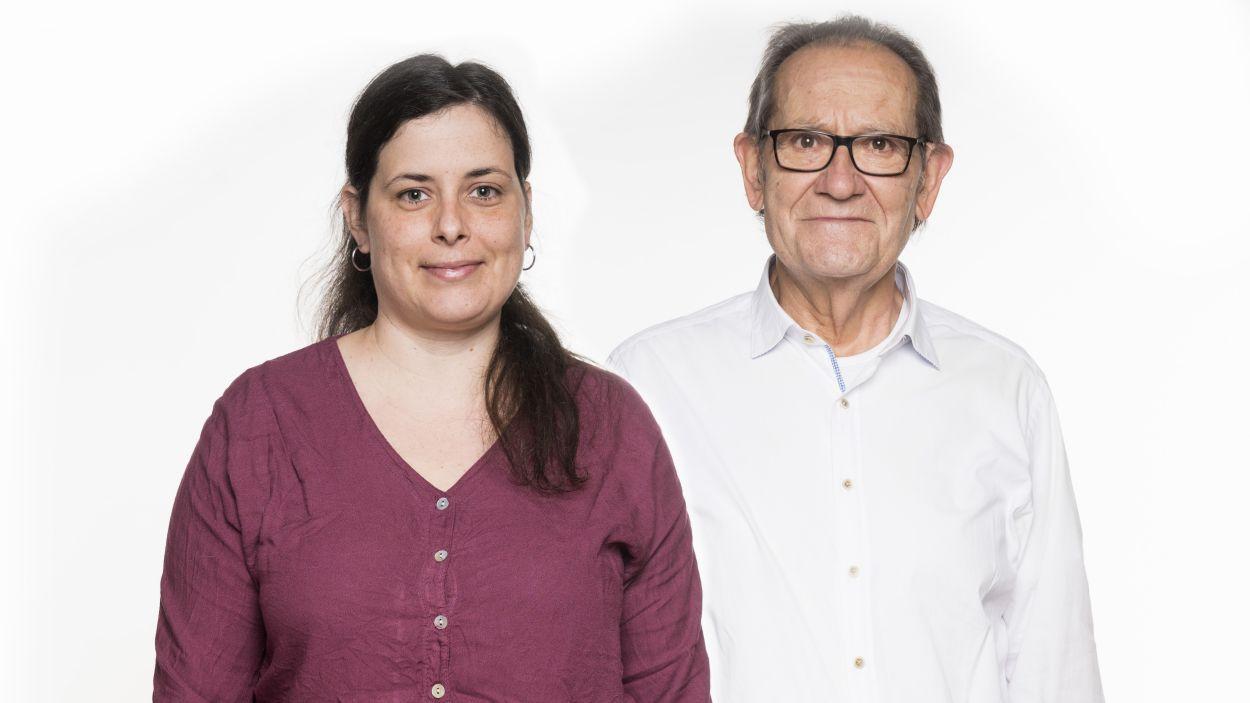 Aina Balda i Josep Maria Balcells / Foto: En Comú Podem