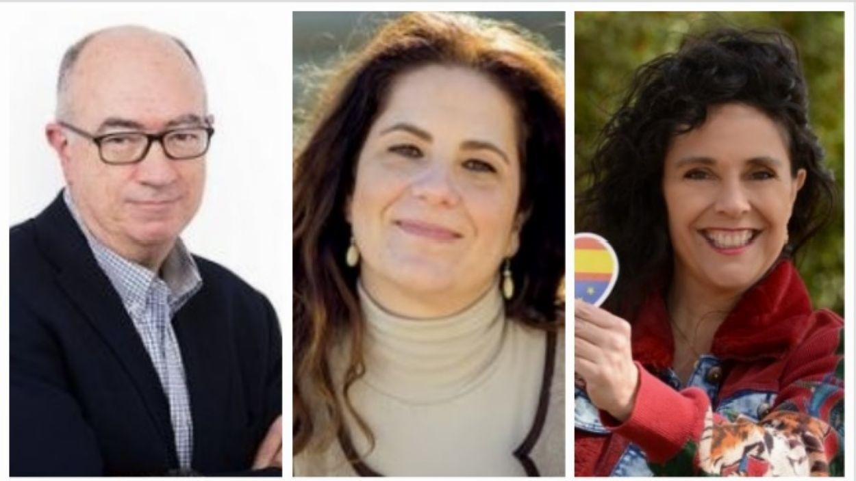 Imatge dels tres candidats / Foto: Cugat Mèdia