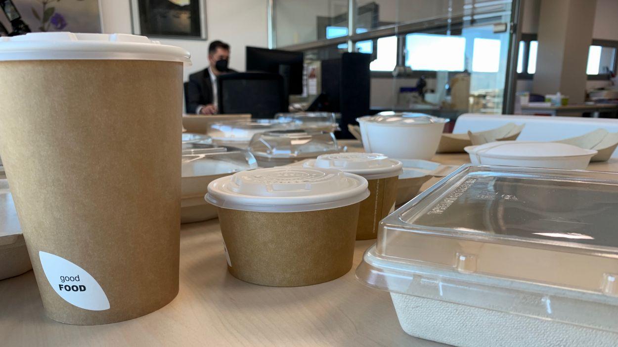 L'empresa Duni, amb seu  Sant Cugat, treballa amb envasos alimentaris / Foto: Cugat Mèdia