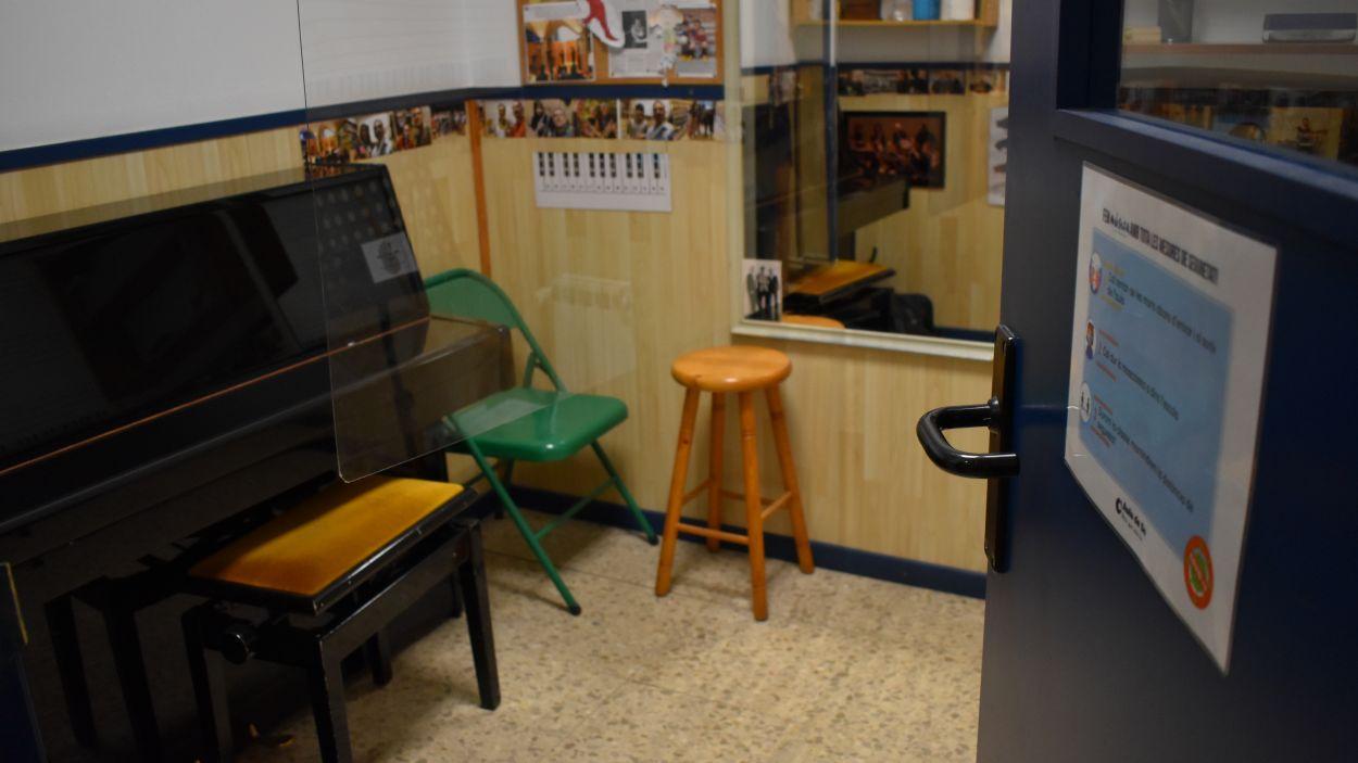 Instal·lacions d'Aula de So / Foto: Cedida