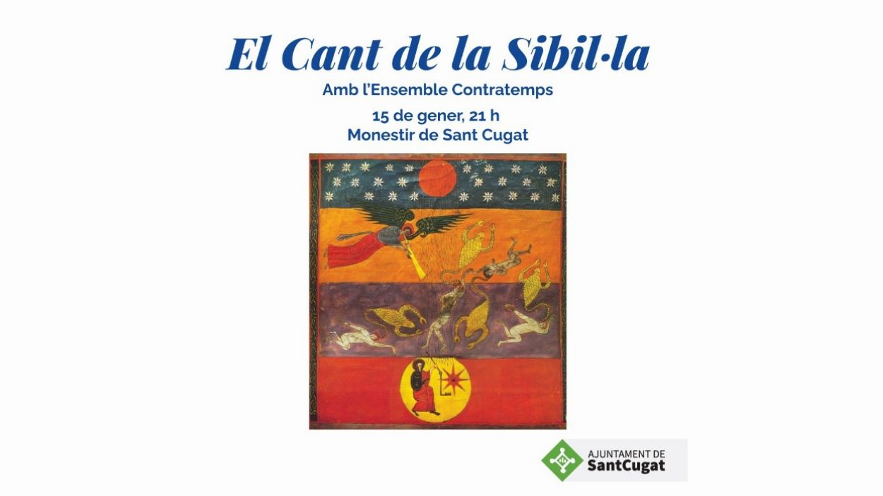 Cartell del concert / Foto: Ajuntament de Sant Cugat