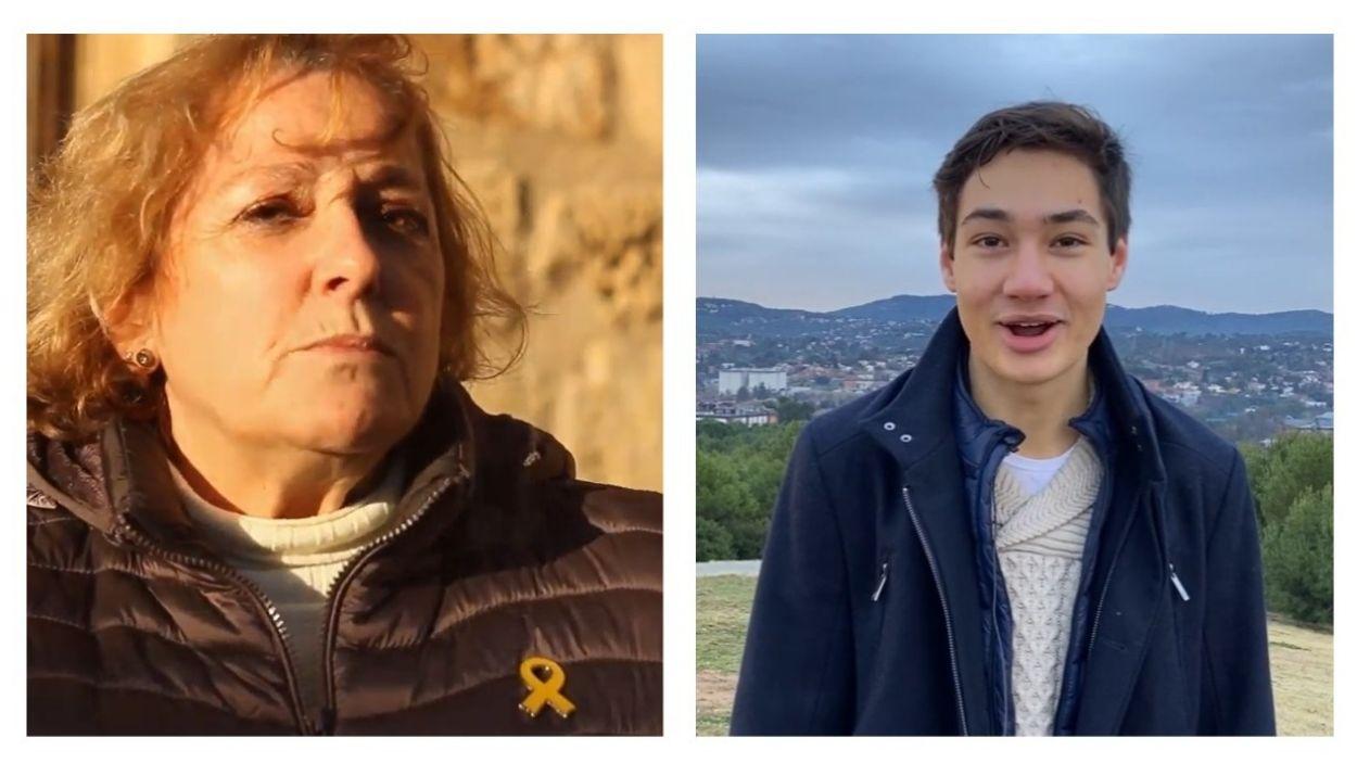 Gemma Foj i Marc Ledesma encapçalen les dues candidatures per a coordinar Junts per Sant Cugat / Foto: Youtube