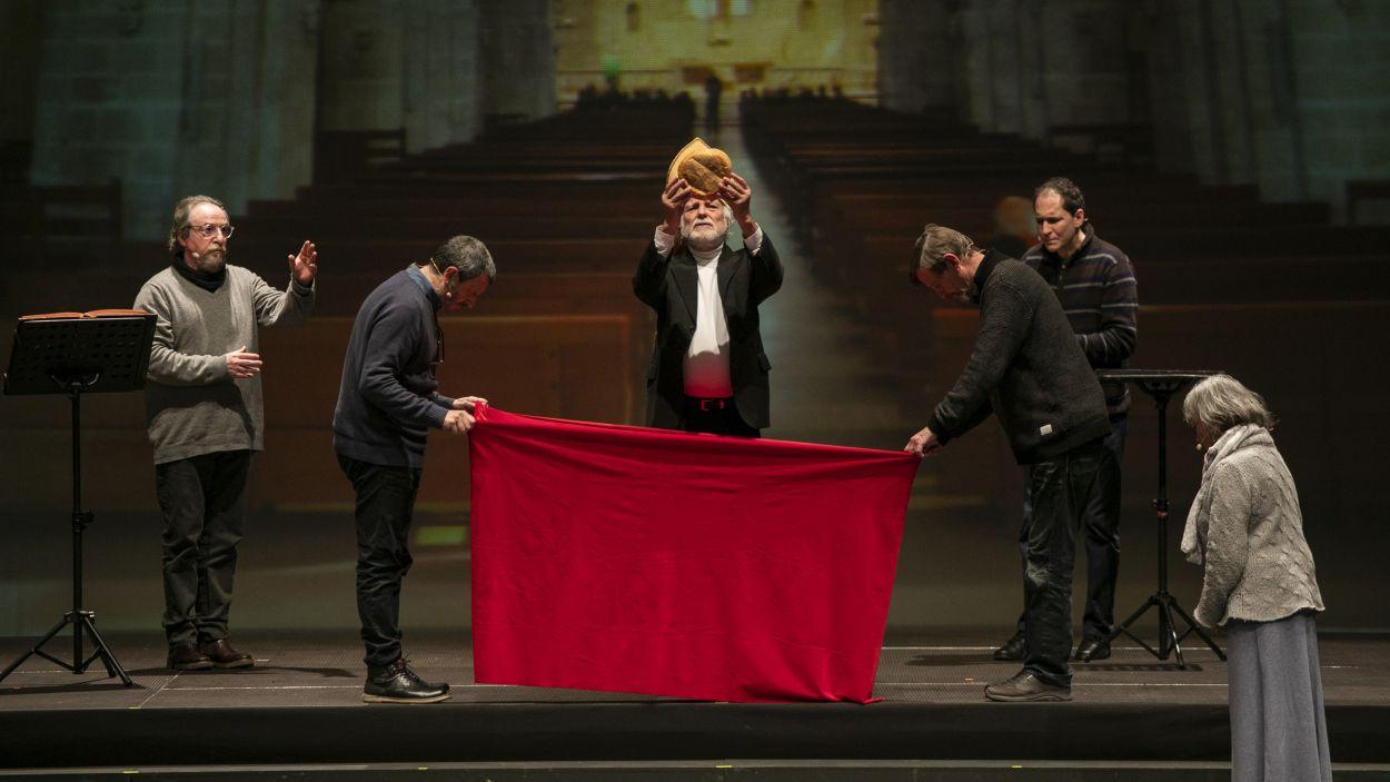 Un dels moments clau de la funció / Foto: Lali Puig - Ajuntament de Sant Cugat