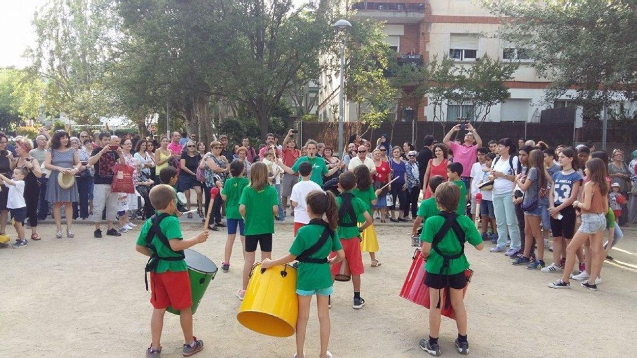 La percussió és una de les activitats extraescolars que es poden fer a Sant Cugat / Foto: Batuescola