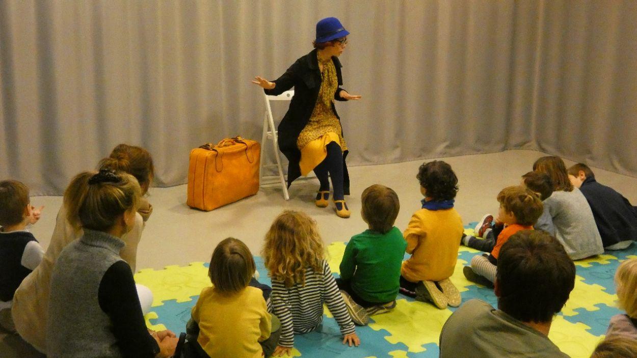 L'activitat de 'L'hora del conte' es feia abans a les biblioteques i ara es fa online / Foto: Biblioteques Sant Cugat