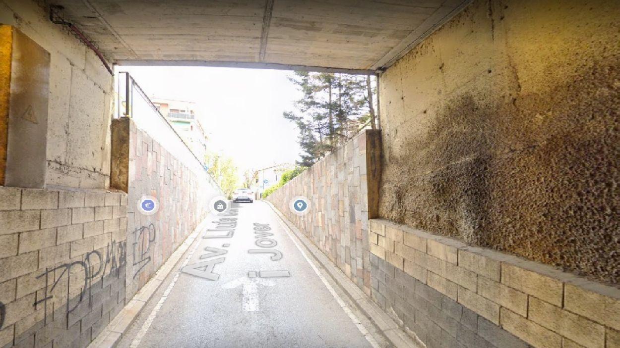 Imatge del túnel / Foto: Google Street