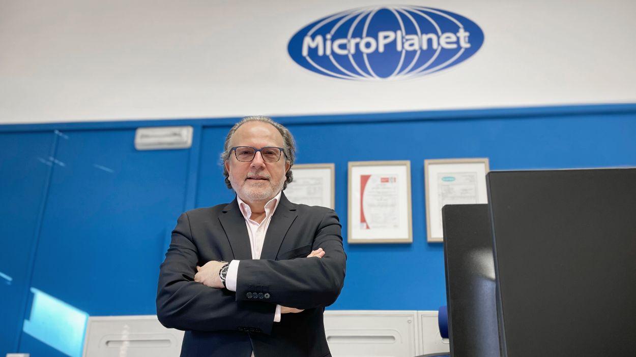 El director de MicroPlanet, Juan Ramon Ortiz / Foto: Cedida Edeon