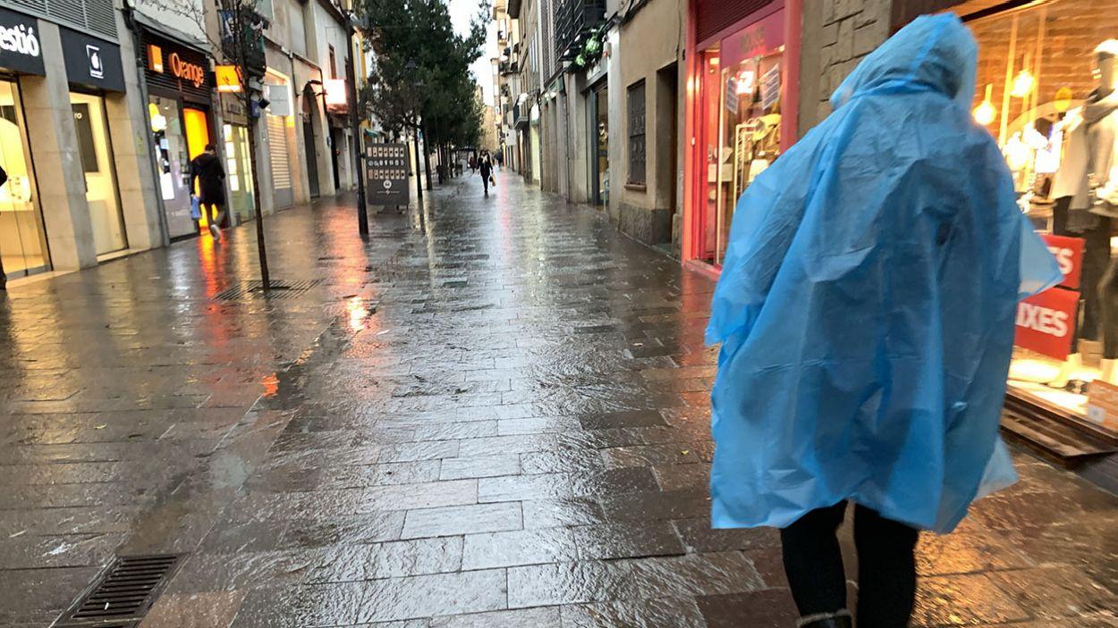 Les precipitacions afectaran tot Catalunya / Foto: Lluís Llebot