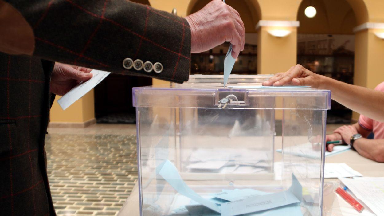 Imatge d'arxiu d'una votació anterior / Foto: ACN
