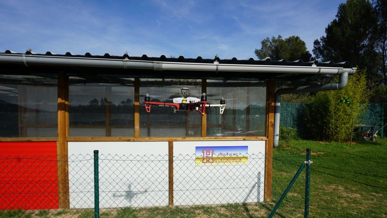Les instal·lacions esportives es troben al Camí de Can Barata / Font: Club Aeromodelisme A.R.C. Sant Cugat