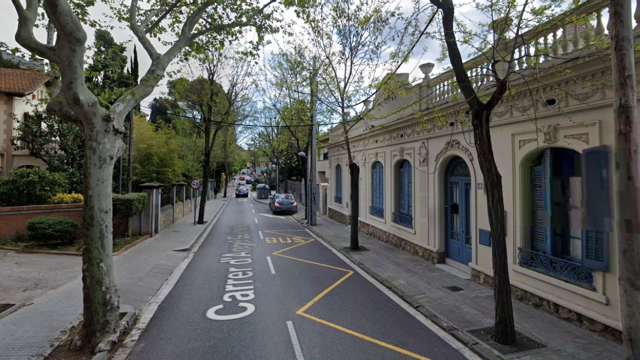 El carrer estarà tallat al trànsit, aquest dimarts, de 9 h 30 a 14 h / Foto: Google Maps