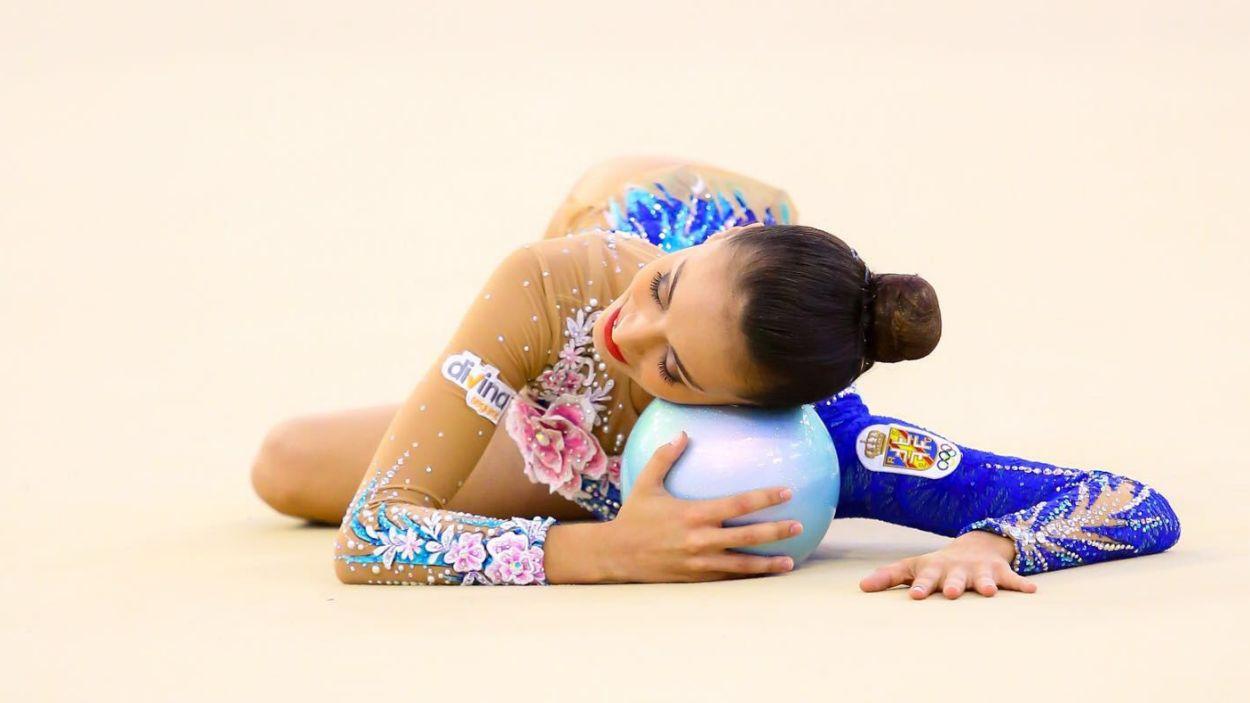 Natalia Garcia durant una competició / Font: Fotos Sport Even