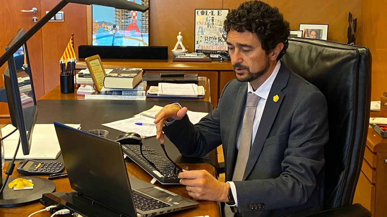 Damià Calvet en una imatge d'arxiu / Foto: ACN