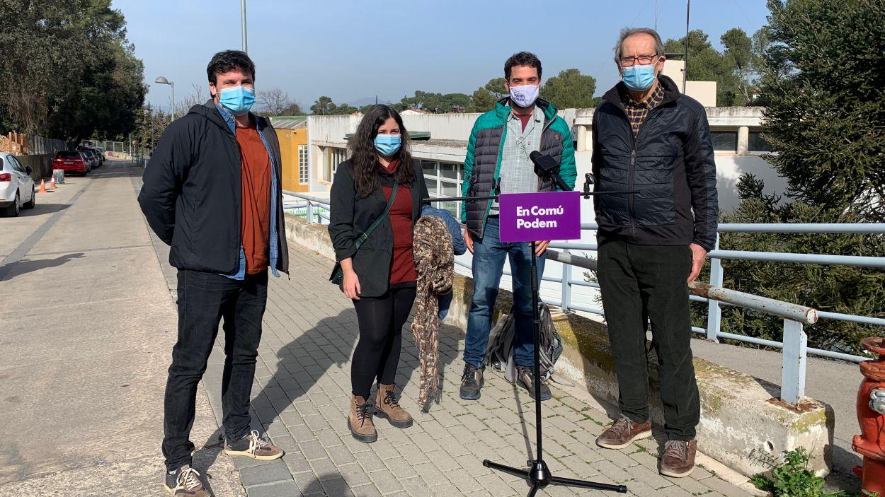 Acte electoral d'En Comú Podem a Sant Cugat / Foto: Cugat Mèdia