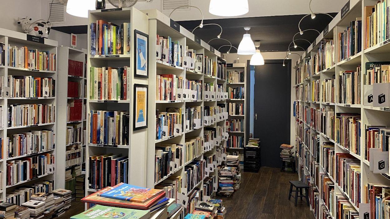 Imatge de la llibreria Re-read a Sant Cugat / Foto: Cugat Mèdia