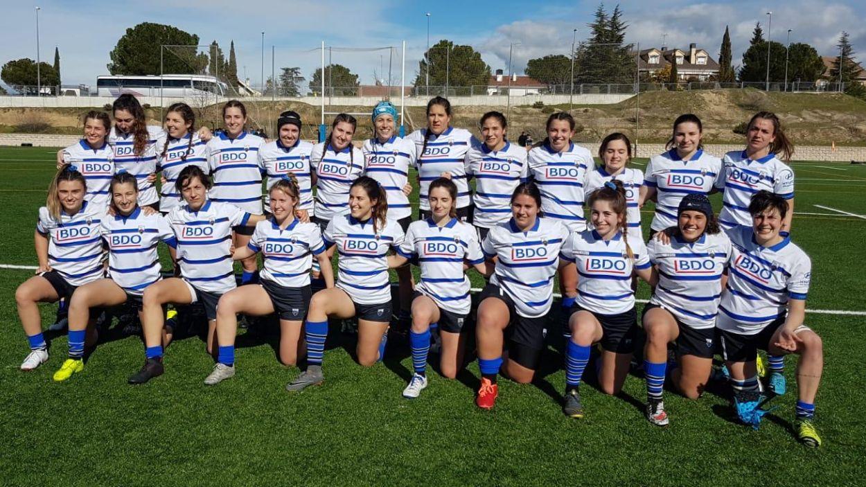 Plantilla del Rugby Sant Cugat / Foto: Cedida