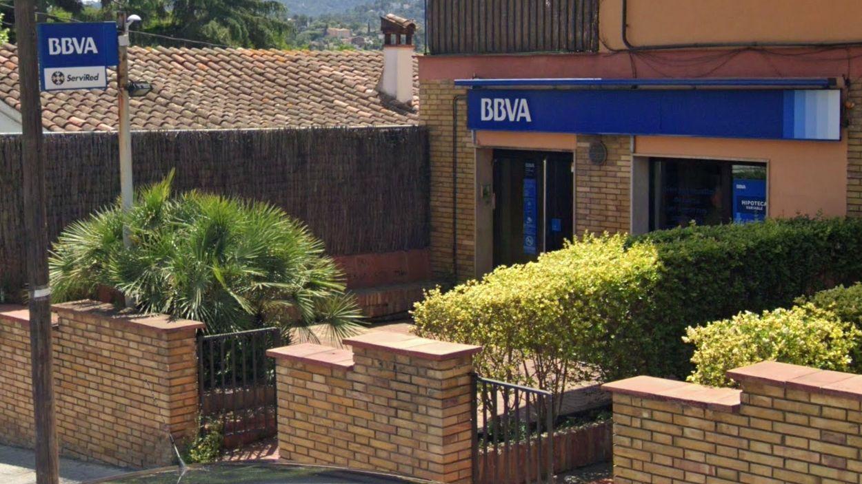 L'oficina del BBVA a Valldoreix / Foto: Google Maps