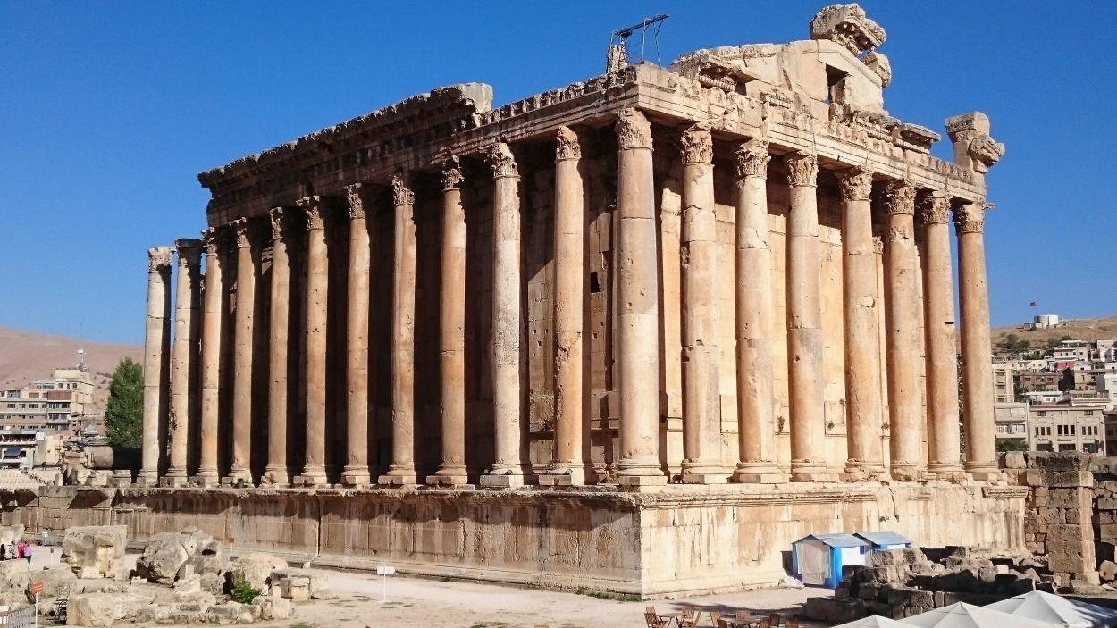 Jaciment arqueològic de Baalbek / Foto: Cedida pels Amics de la Unesco Sant Cugat