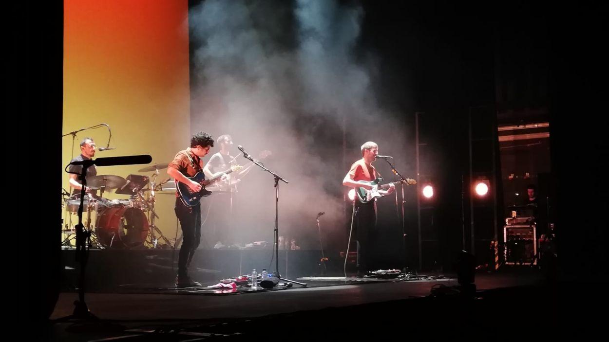 El grup Manel en el concert al Teatre-Auditori / Foto: Cugat Mèdia