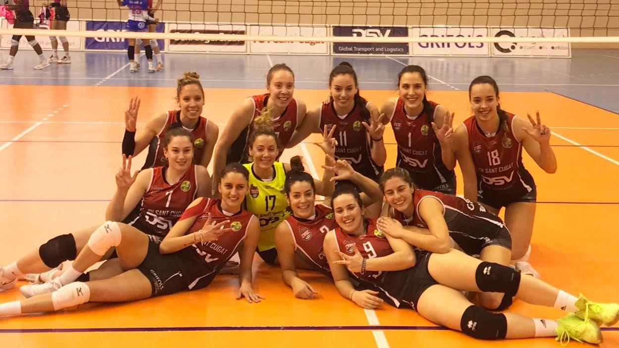 El DSV- Volei Sant Cugat afronta la primera final pel play-off el títol davant Sayre