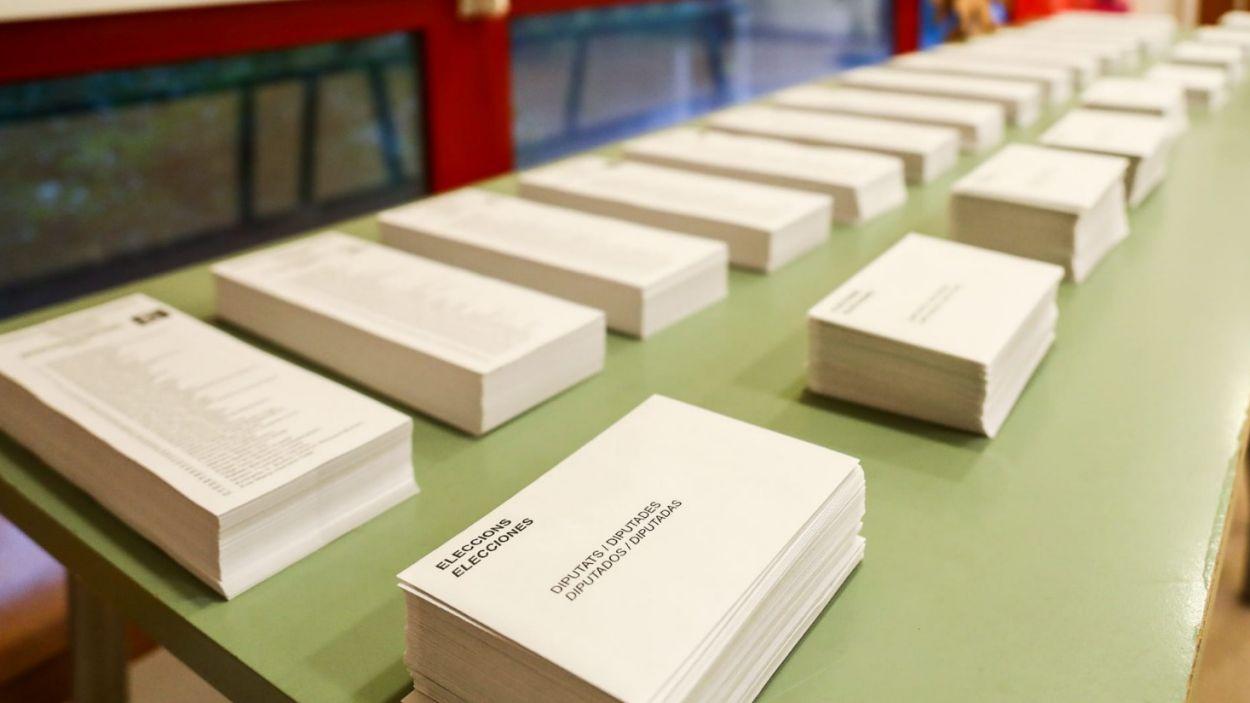 Els candidats santcugatencs comencen a votar / Foto: Cugat Mèdia