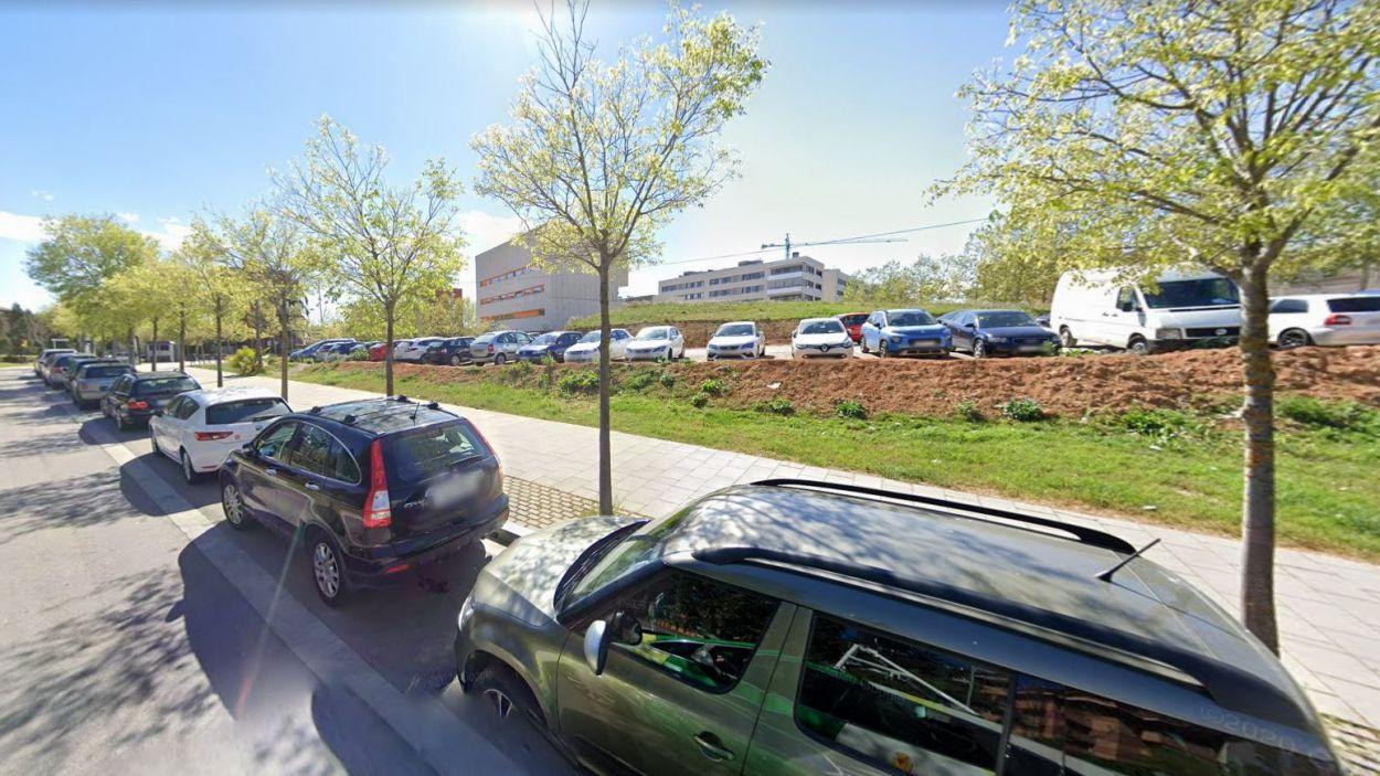 Imatge de la zona del CAP de Can Mates / Foto: Google Street