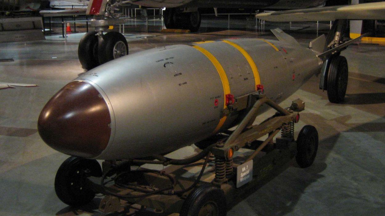 Imatge d'arxiu d'una arma nuclear / Foto: CC Chairboy