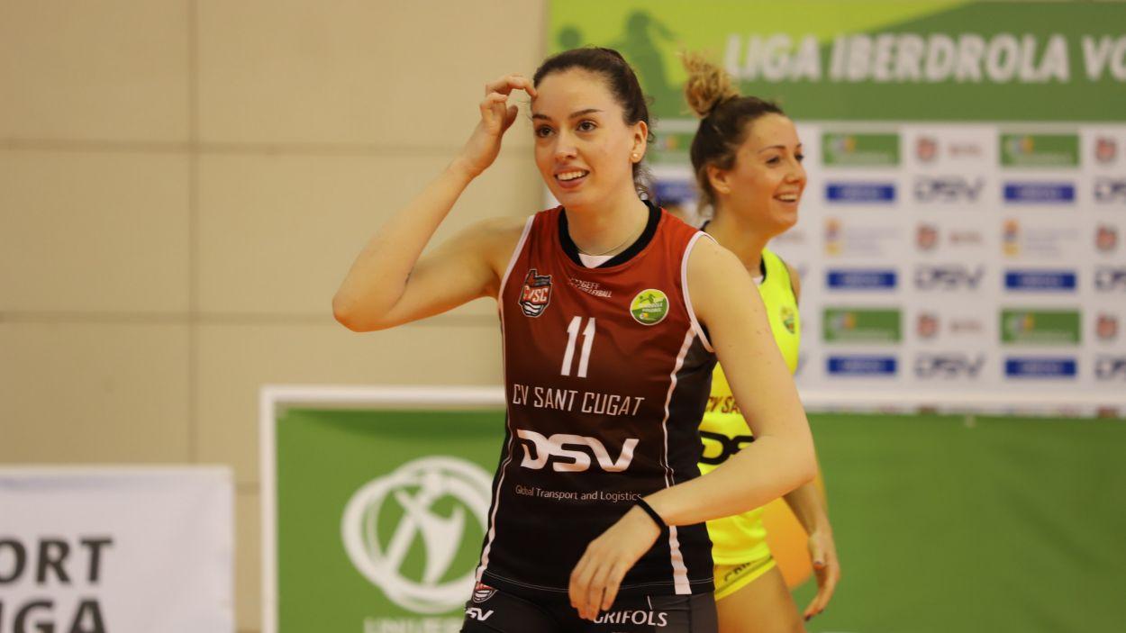 Anna Newsome, convocada amb la selecció espanyola / Foto: Volei Sant Cugat