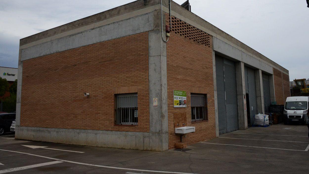 Imatge d'arxiu del punt verd del centre de Sant Cugat / Foto: Localpres