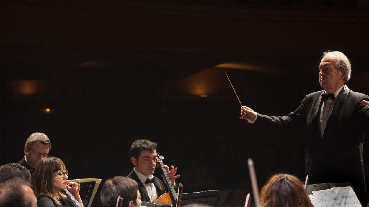 El director de l'Orquestra Simfònica Josep Ferré / Foto: Mané Espinosa