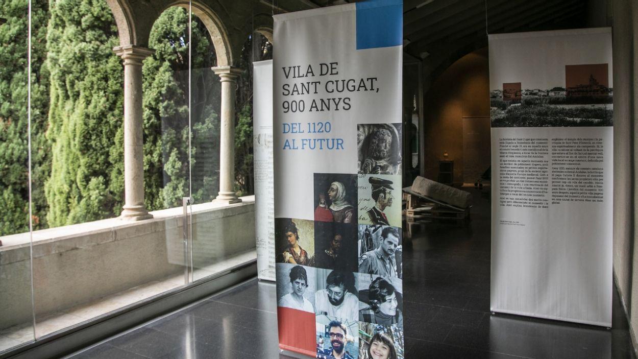 Imatge de l'exposició que hi ha actualment al Museu del Monestir / Foto: Cugat Mèdia