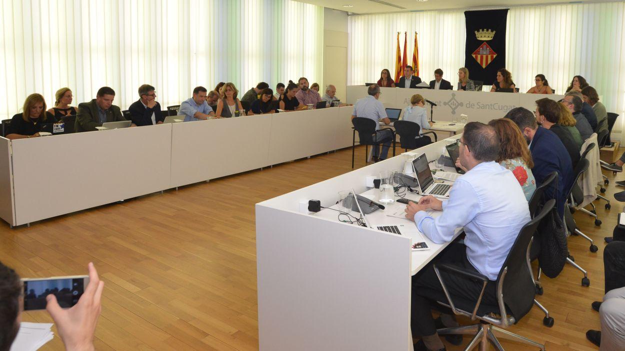 El ple municipal de Sant Cugat / Foto: Ajuntament