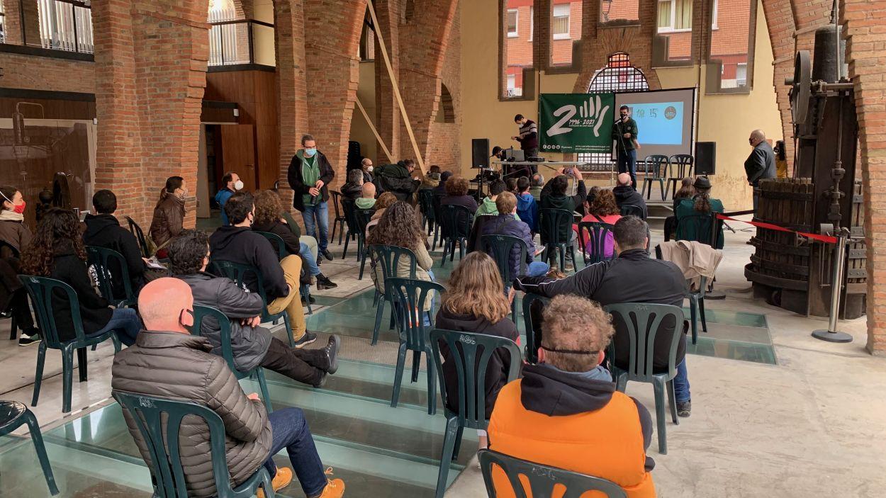 Els Gausacs celebren el 25è aniversari de la colla / Foto: Cugat Mèdia