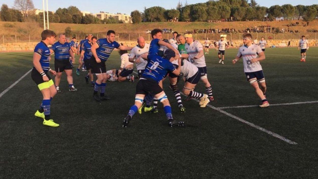 El Rugby Sant Cugat juga al camp del Fènix de Saragossa / Foto: SantCugatCreix