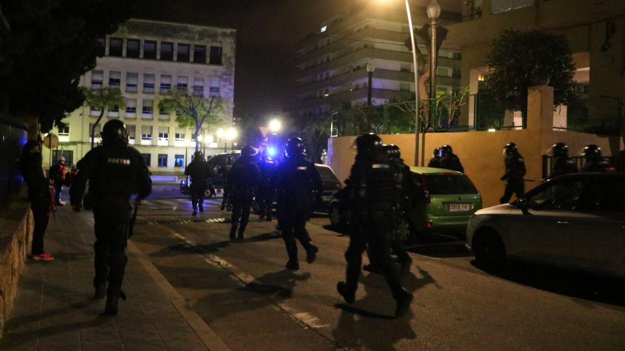 Els Mossos d'Esquadra s'han endut el guardó d'Arran per tercera vegada / Foto: ACN