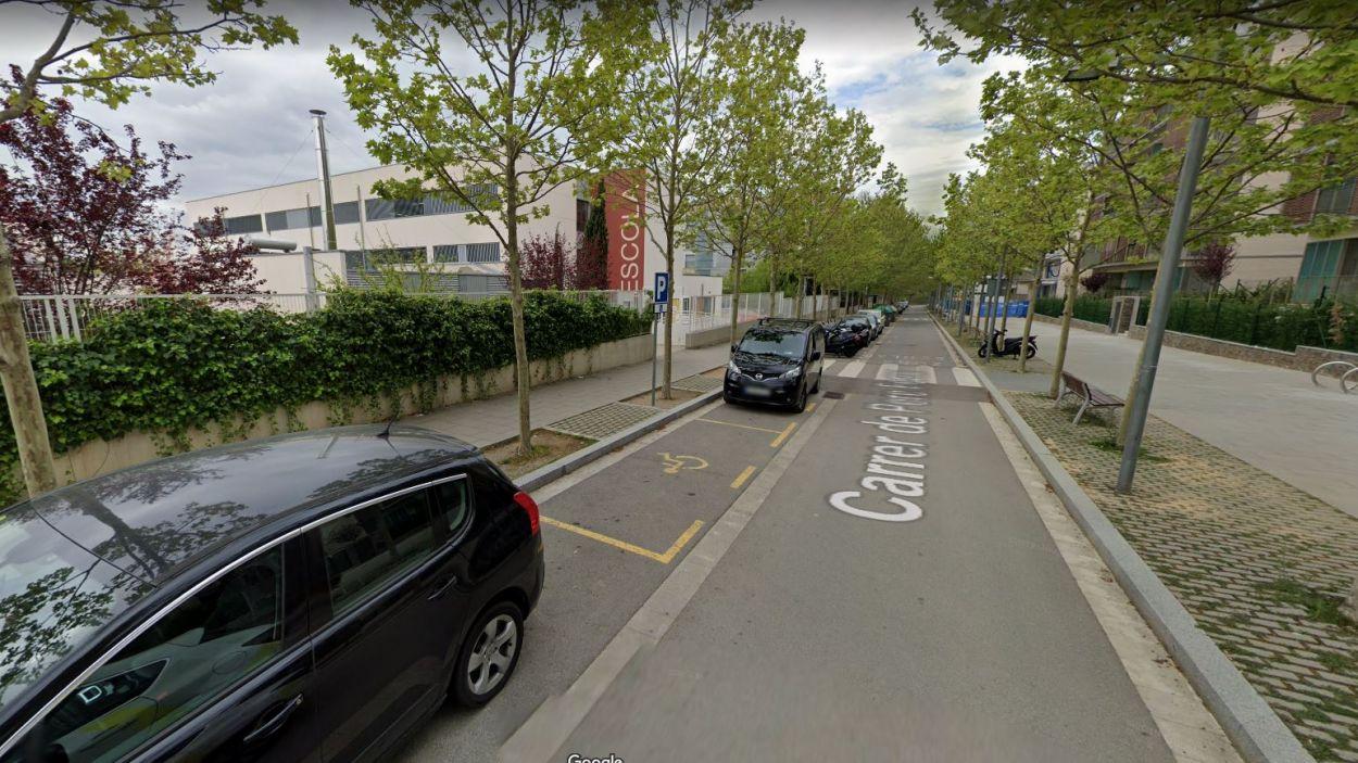 Imatge del carrer de Pere Ferrer / Foto: Google Street