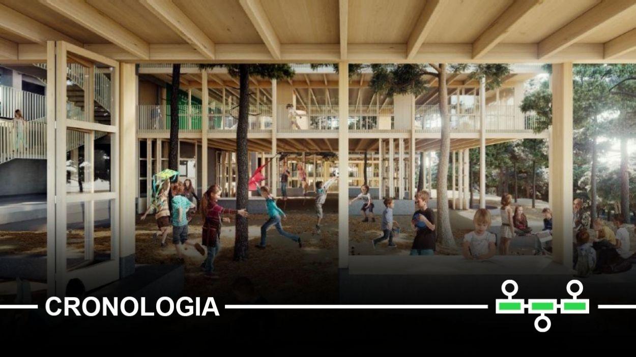 La Mirada: més de 15 anys d'història d'una escola que encara no té edifici