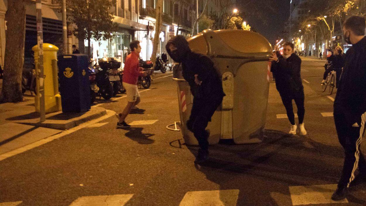 Imatge dels aldarulls aquest cap de setmana a Barcelona / Foto: ACN