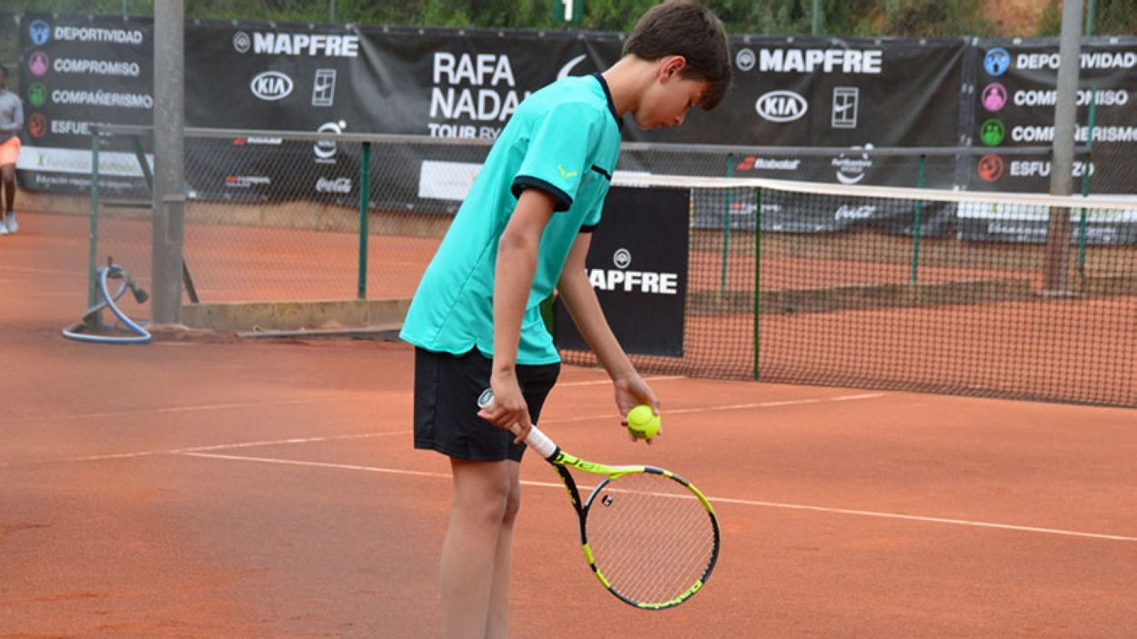 El Club Esportiu Valldoreix acull la 8a edició del torneig de tennis Rafa Nadal