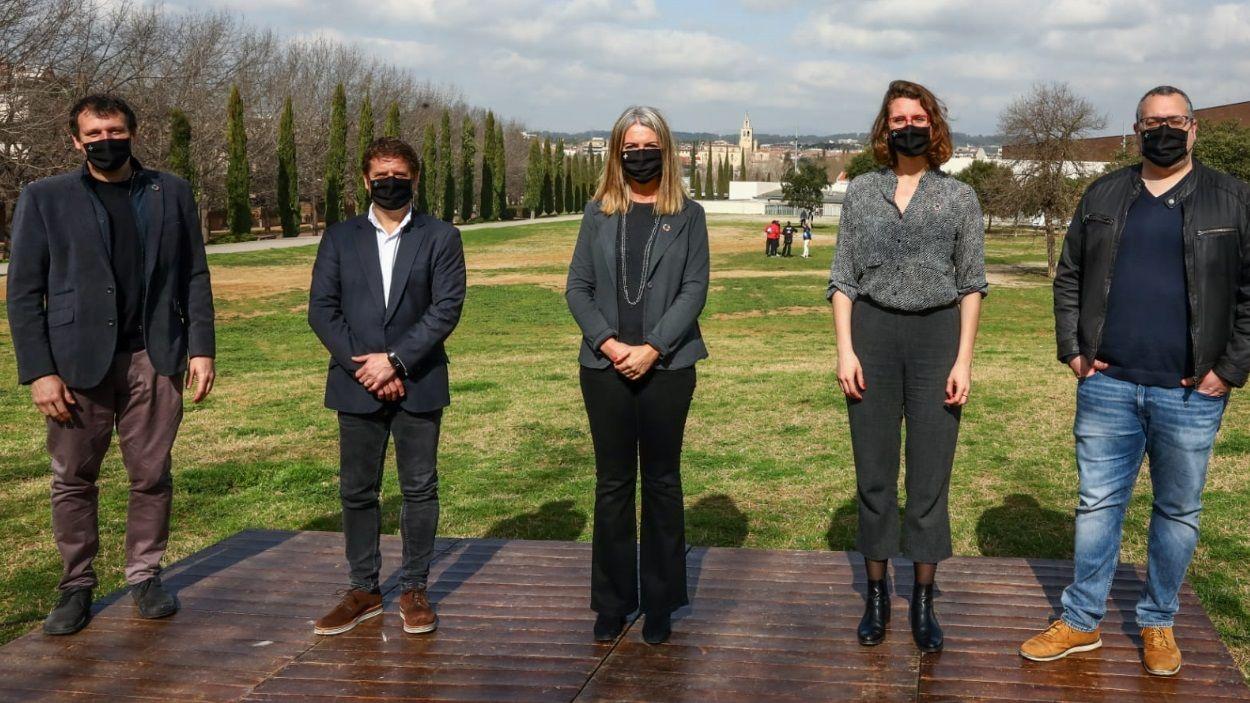 La presentació ha tingut lloc al parc de l'Arborètum / Foto: Lali Puig - Ajuntament de Sant Cugat