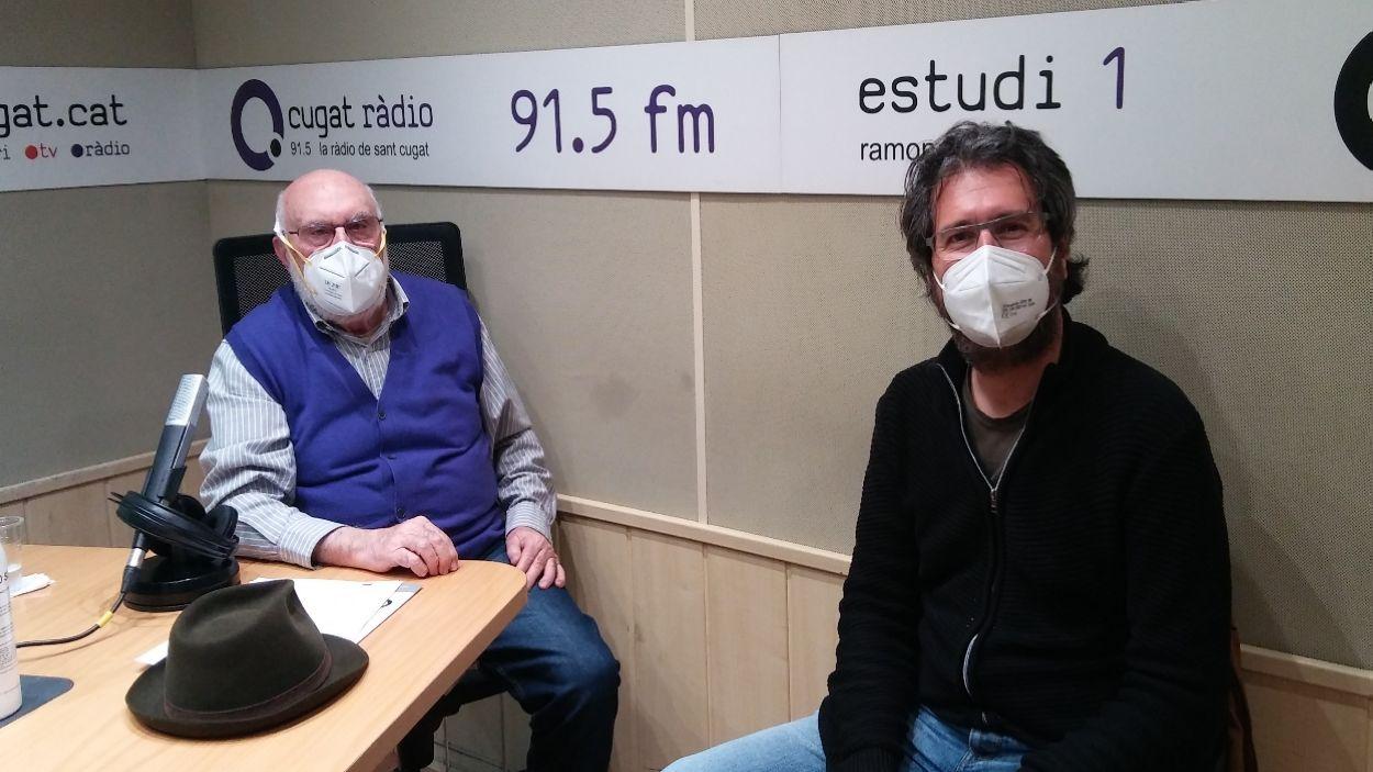 Oriol Saltor fa un repàs de la seva trajectòria professional al 'Molta Comèdia'