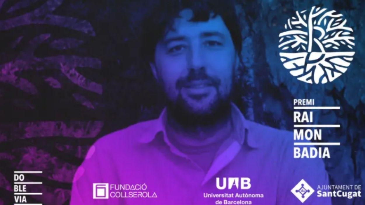 Imatge promocional del premi Raimon Badia / Font: Premi Raimon Badia