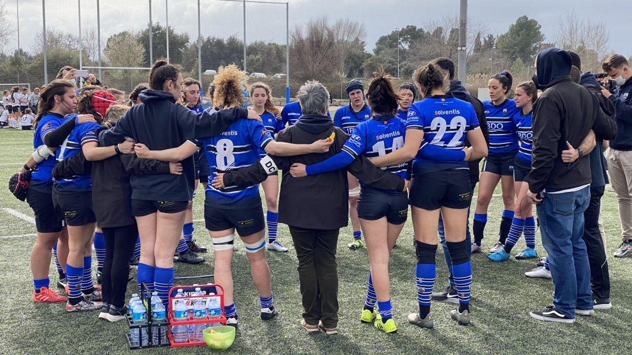 El Rugby Sant Cugat vol pujar a Divisió d'Honor / Foto: Cugat Mèdia