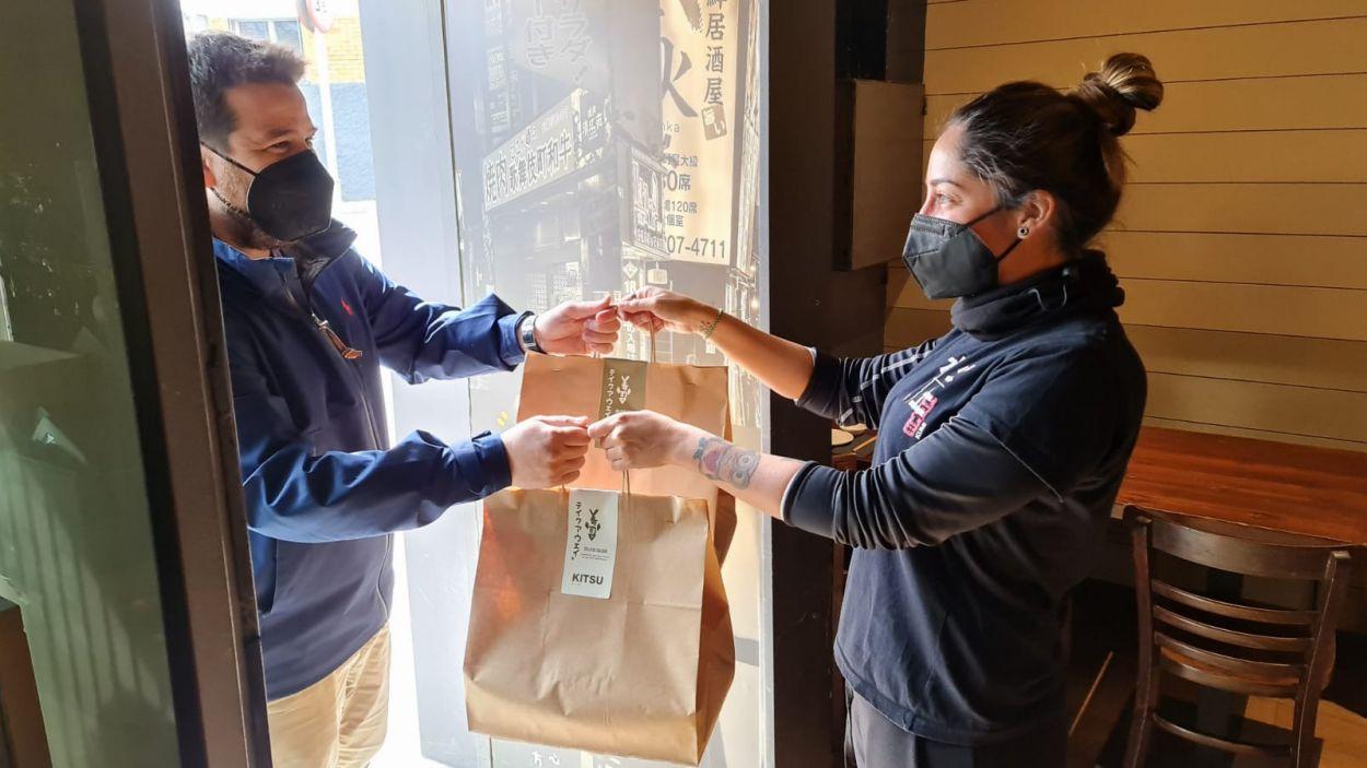 Molts restauradors han apostat pel 'take away' i el 'delivery' / Foto: Cugat Mèdia