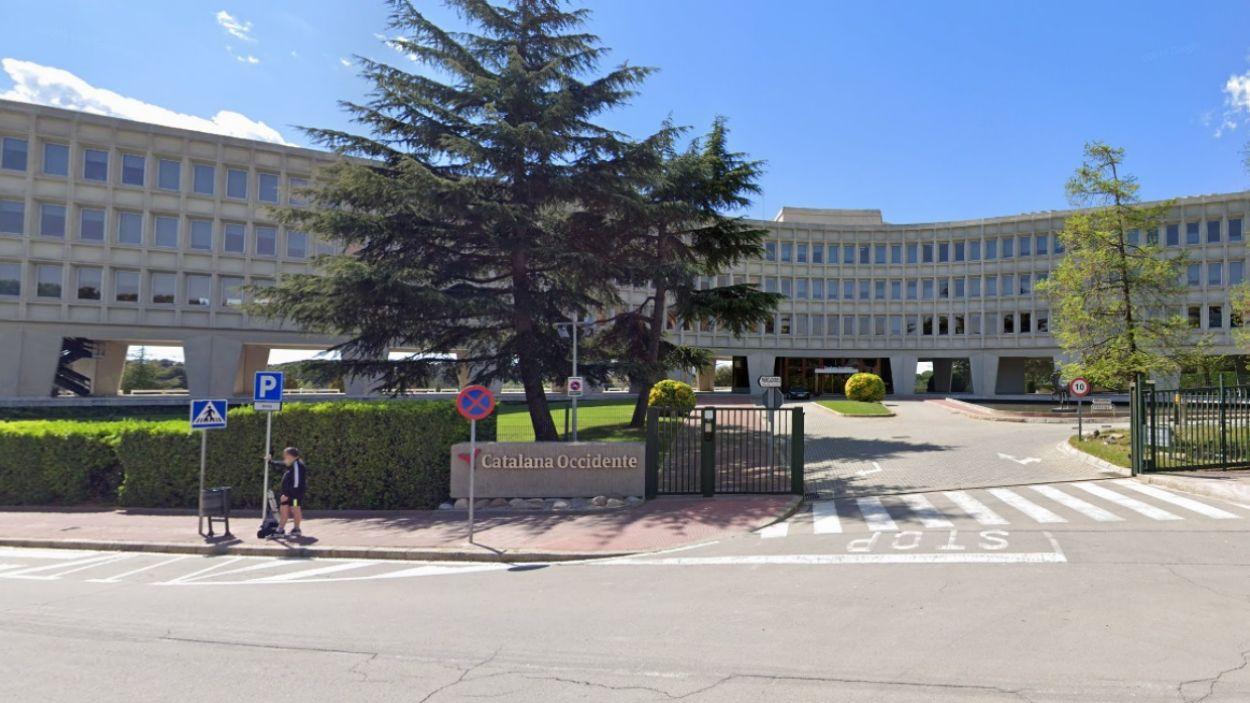 Exterior de la seu situada a Sant Cugat del Grup Catalana Occidente / Foto: Google Maps