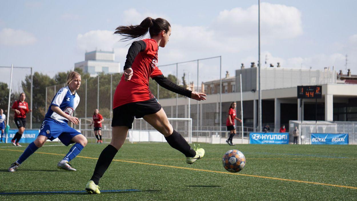 El SantCu femení es va imposar al camp del Sabadell / Font: Aina Villares