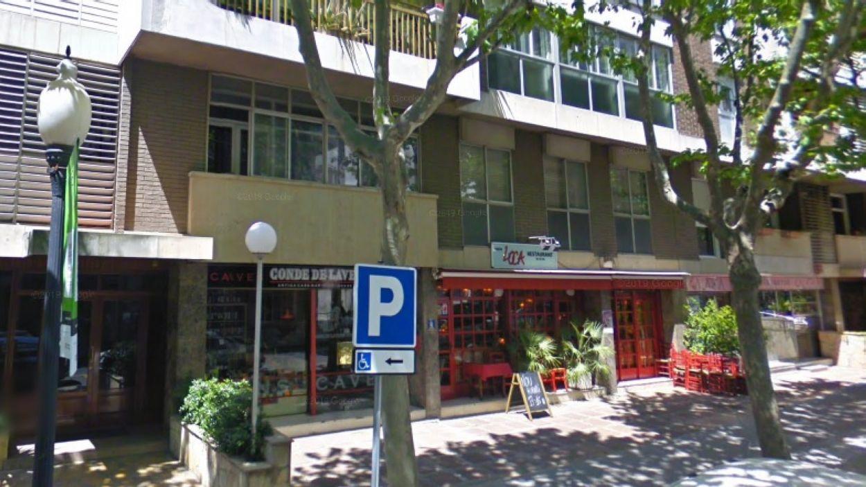 L'Esglèsia Evangèlica està a l'avinguda Lluís Companys / Foto: Lluís Companys