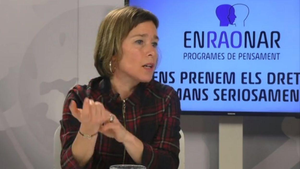 Laia Serra és advocada i activista feminista / Foto: Cugat Mèdia